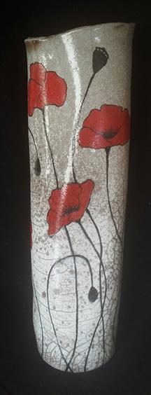 Tall Poppy Vase