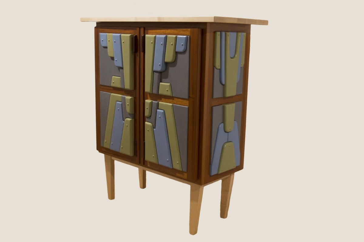 Deco Bar Cabinet