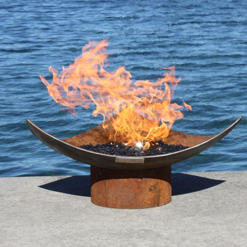 Isosceles Modern Firebowl