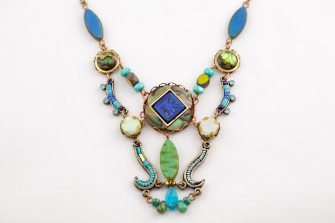 Calder Necklace in Lapis