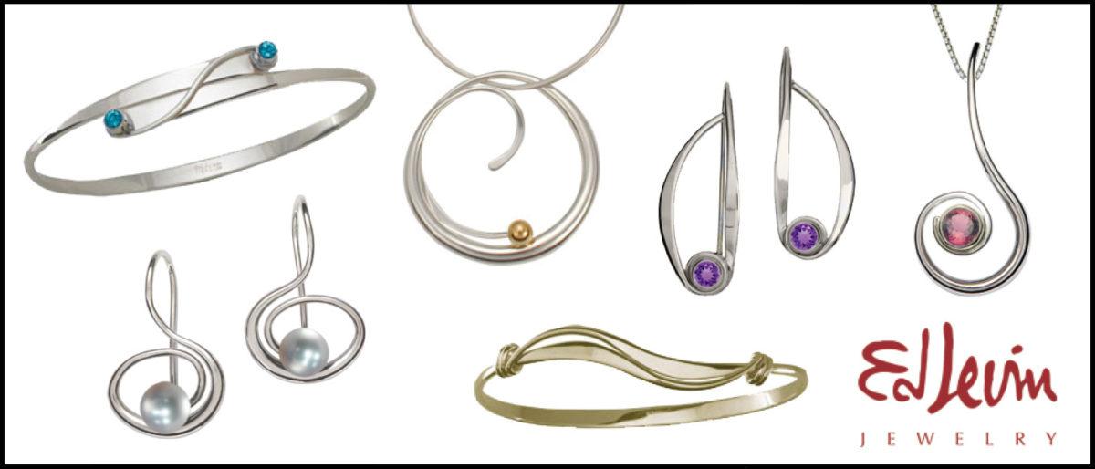 Ed Levin Jewelry with Stones