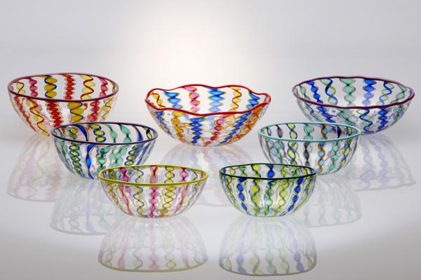 Small Cane Bowls