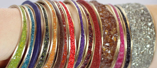 Assorted Stone Bangles