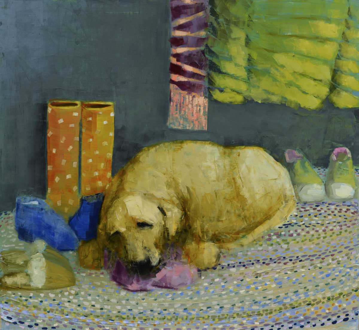 Yellow Dog Dreaming (Mud Room)