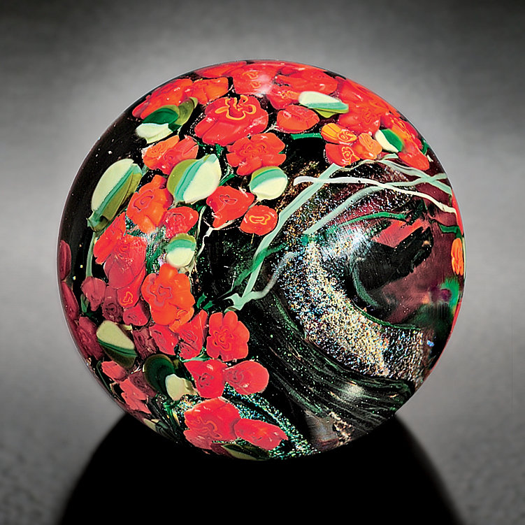 Red Roses Paperweight
