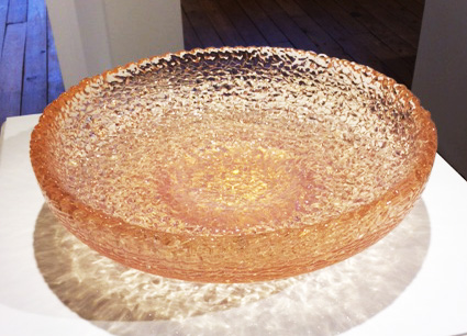Glass Bowl (Light Pink)