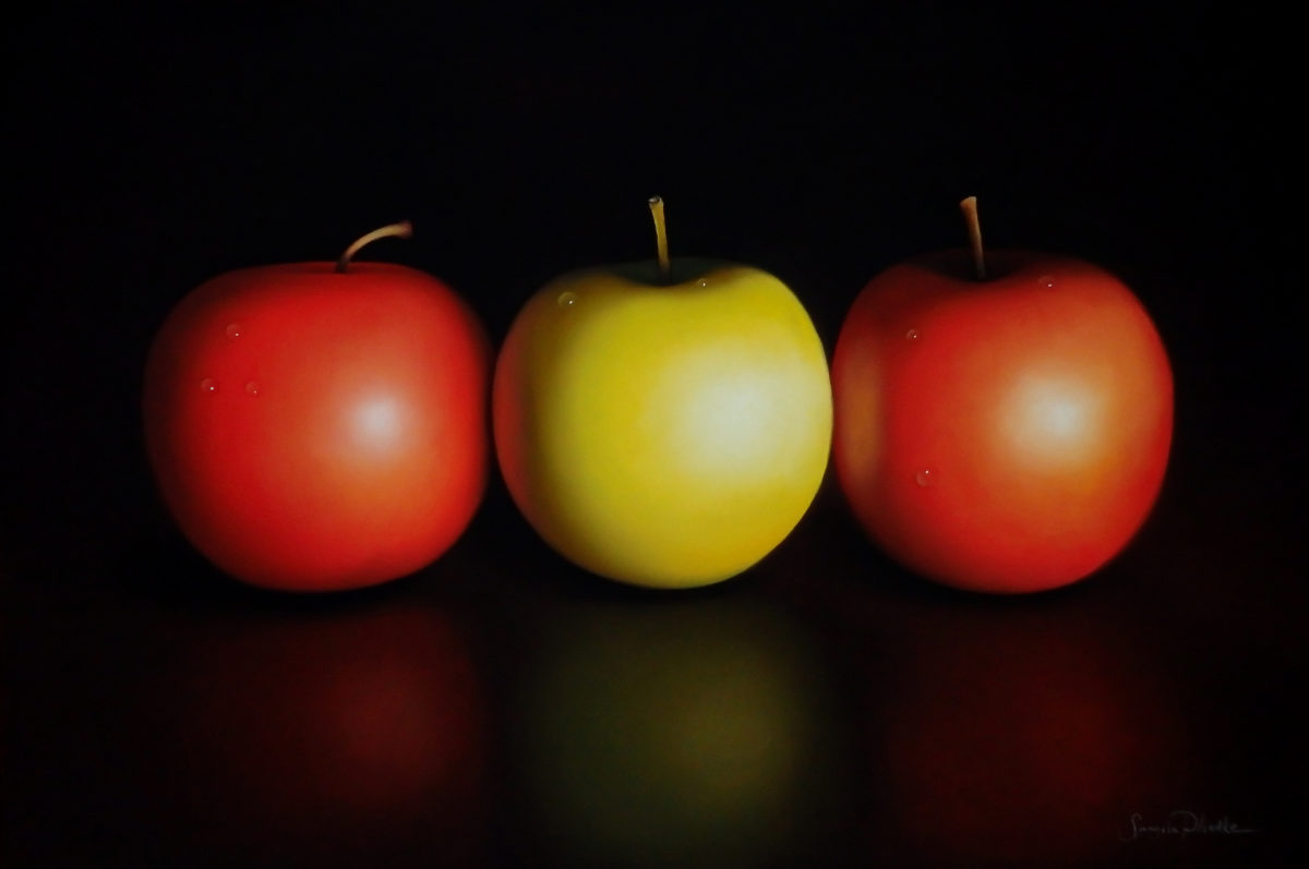 Apple Trio