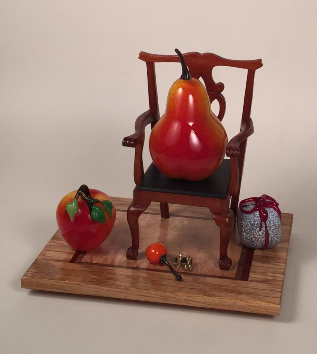 The Queen's Pear in a Chair