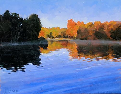 Lake, Morning Mist