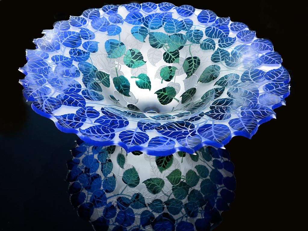 Cobalt Aspen Bowl