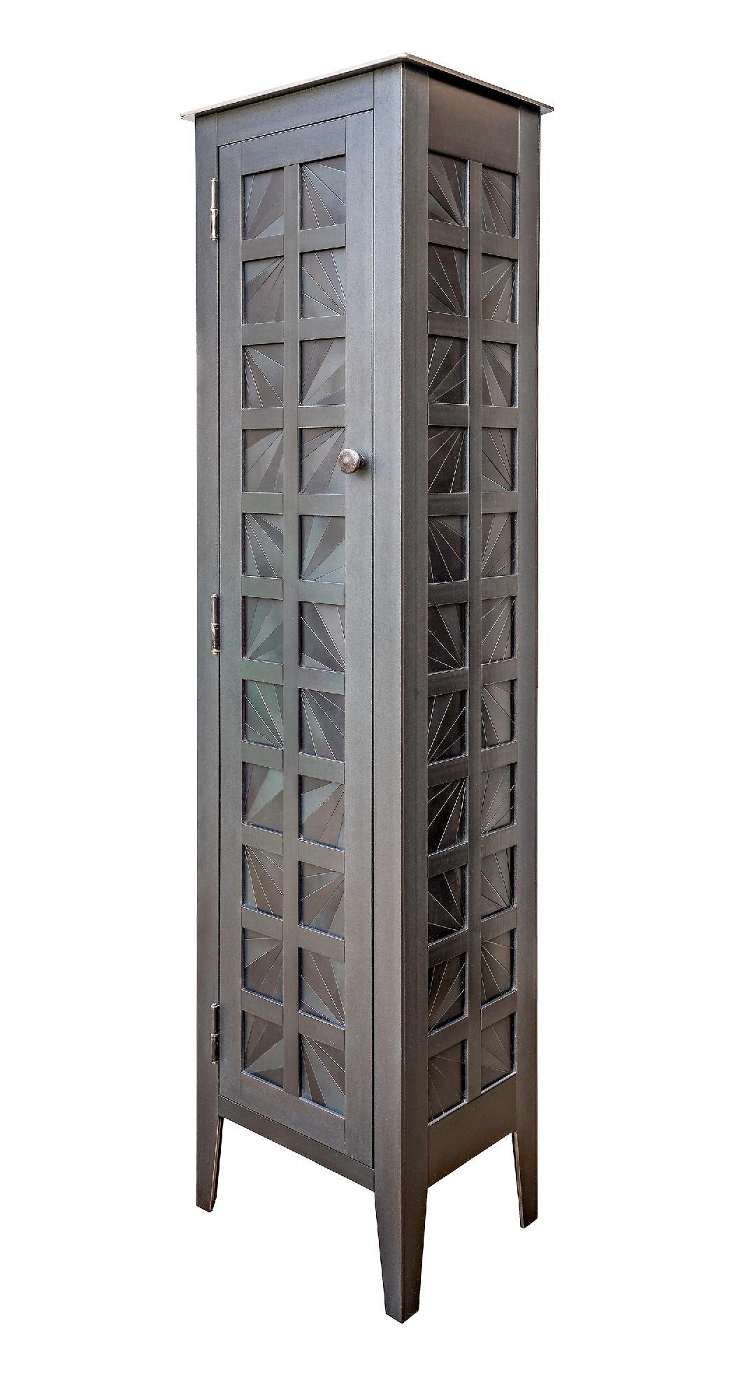 One Door Fans Quilt Cupboard