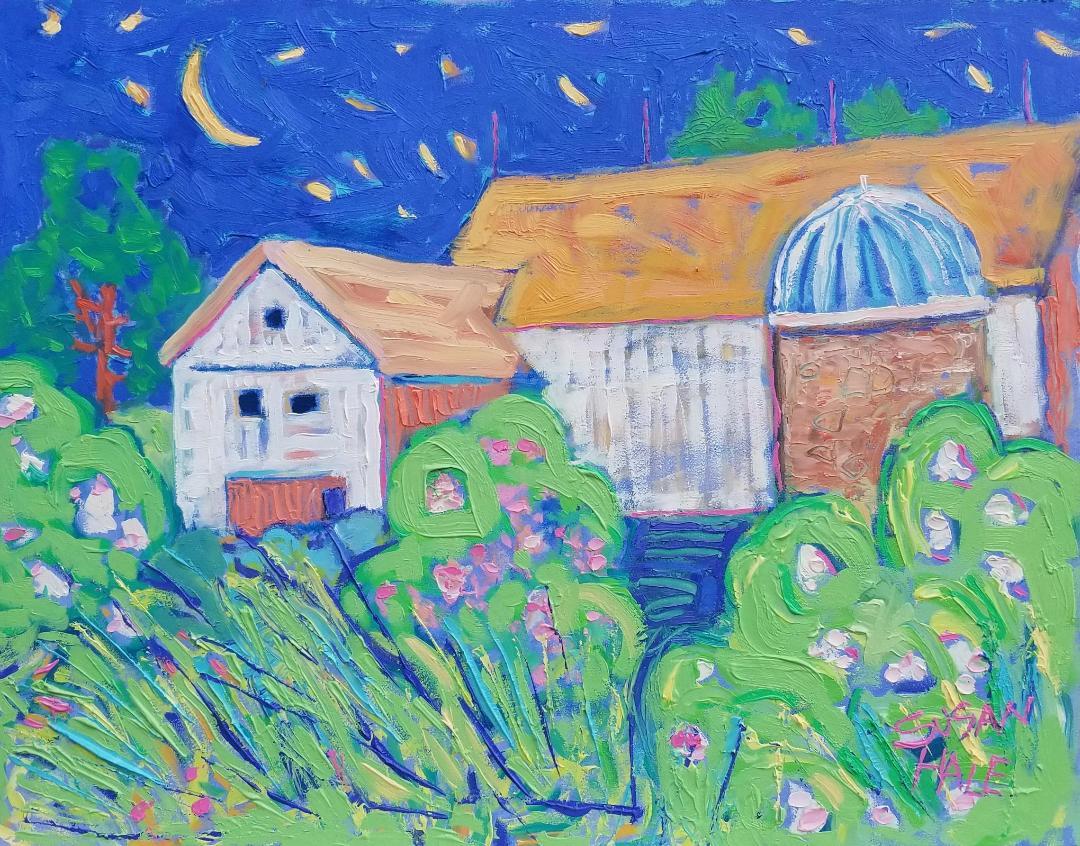 Night Pasture Barn